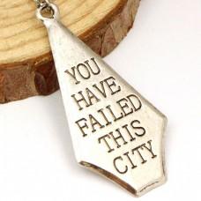 Кулон Стрела «Ты подвел этот город»
