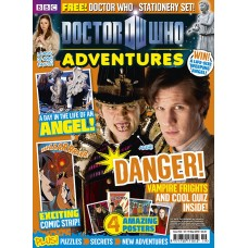 Журнал BBC Doctor Who Adventure выпуск 166
