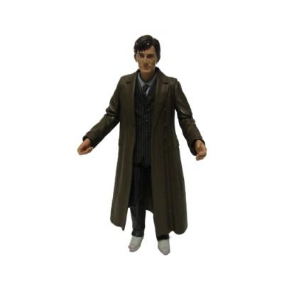 Десятый Доктор в плаще и костюме