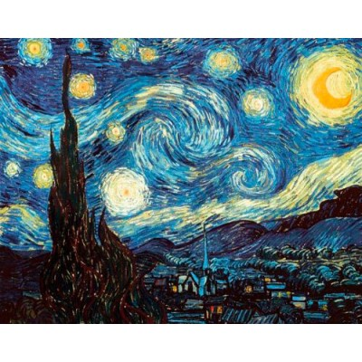 Дктор Кто - картина Звёздная Ночь Винсента Ван Гога