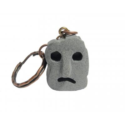 Брелок Камень, который похож на лицо