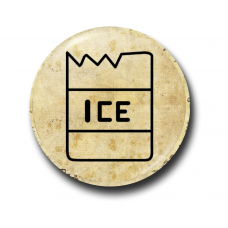 Значок Символ Венди Контур на Пергаменте