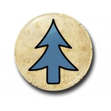 Значок Символ Диппера на Пергаменте