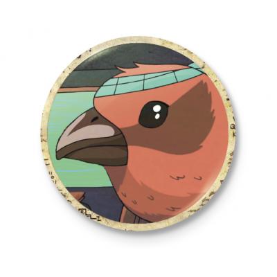 Значок Птица Вэнди