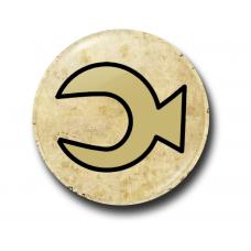 Значок Символ Стэна Полумесяц на Пергаменте
