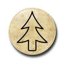 Значок Символ Диппера Контур на Пергаменте