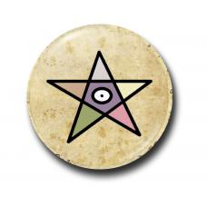 Значок Символ Малыша Гидеона на Пергаменте