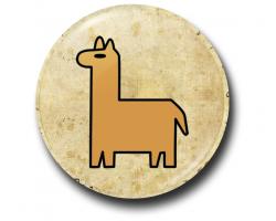 Значок Символ Пасифики на Пергаменте