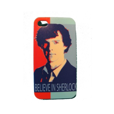 Чехол для iPhone 4/4s Believe in Sherlock