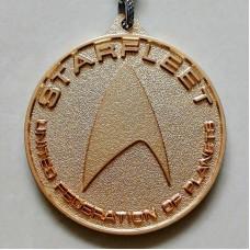 Брелок Стартрек Звездный путь (Звездный флот).